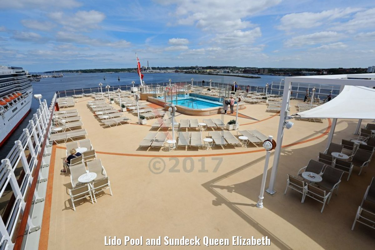 Lido Pool and Sundeck Queen Elizabeth