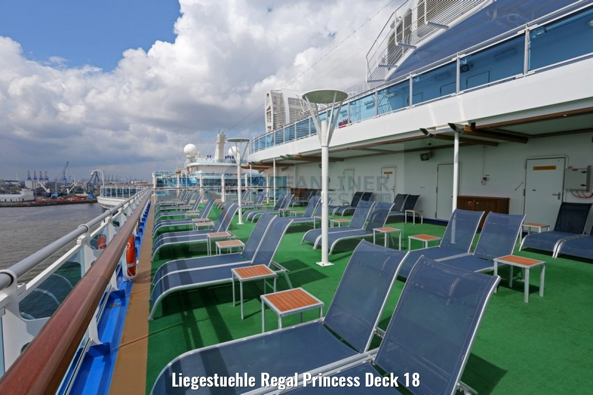 Liegestuehle Regal Princess Deck 18
