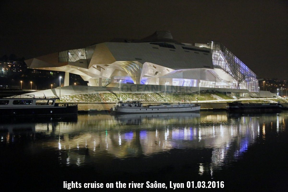 lights cruise on the river Saône, Lyon 01.03.2016