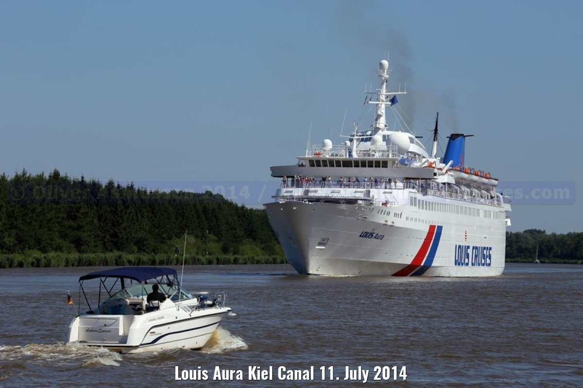 Louis Aura Kiel Canal 11. July 2014