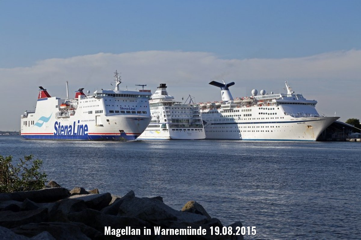 Magellan in Warnemünde 19.08.2015