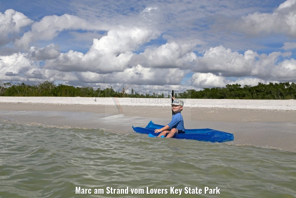 Marc am Strand vom Lovers Key State Park