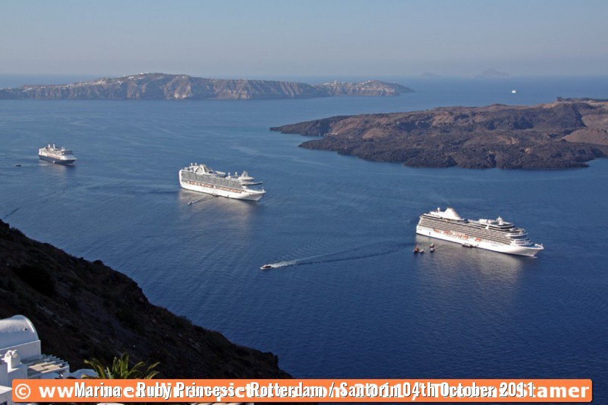 Marina - Ruby Princess - Rotterdam / Santorin 04th October 2011