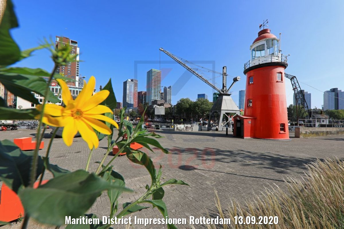 Maritiem District Impressionen Rotterdam 13.09.2020
