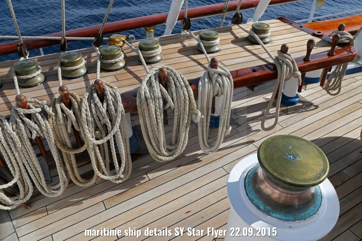 maritime ship details SY Star Flyer 22.09.2015