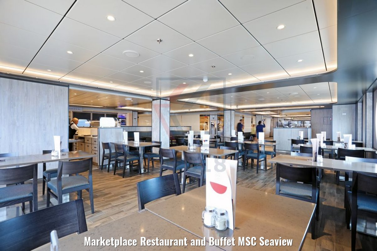 Marketplace Restaurant and Buffet MSC Seaview