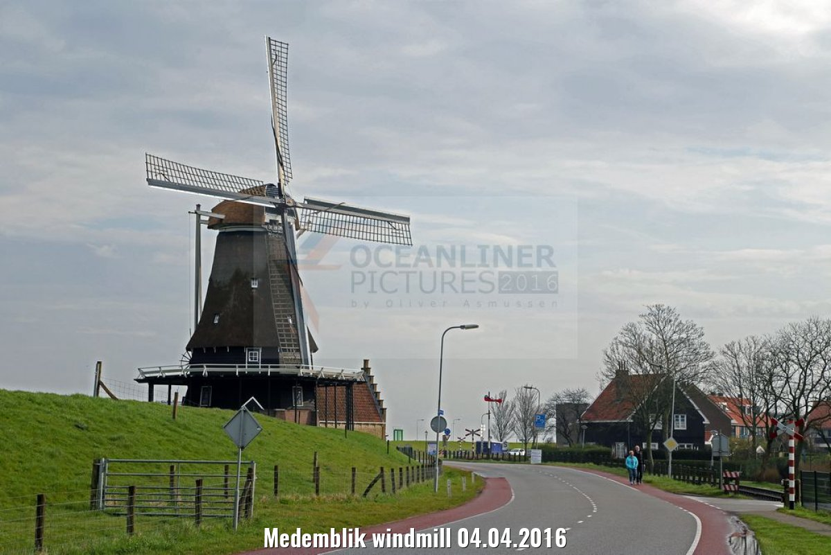 Medemblik windmill 04.04.2016