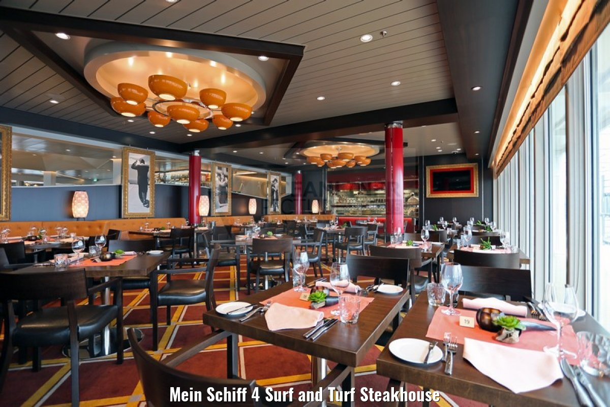 Mein Schiff 4 Surf and Turf Steakhouse