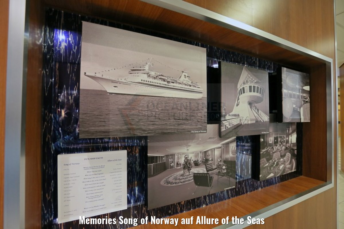 Memories Song of Norway auf Allure of the Seas