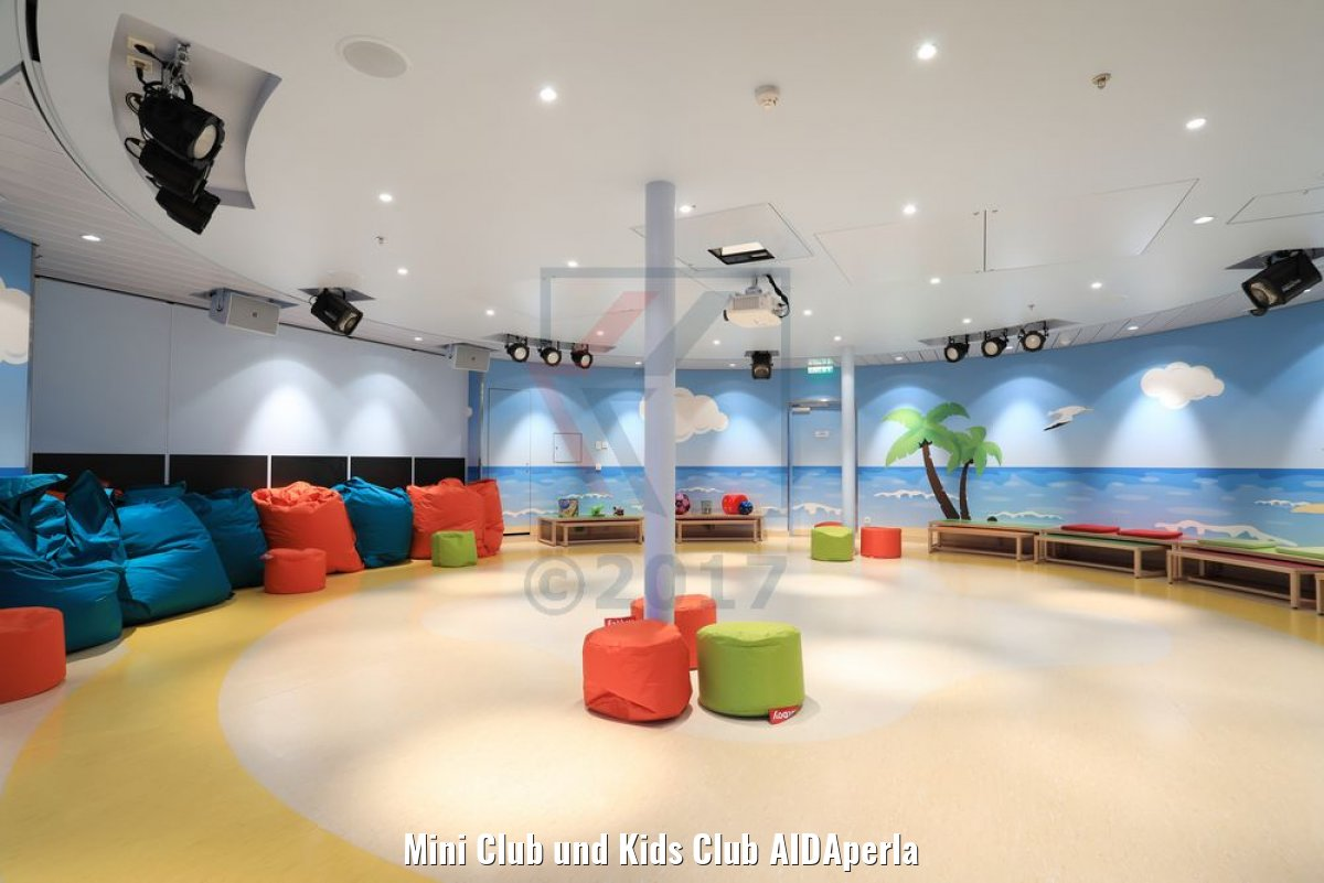 Mini Club und Kids Club AIDAperla
