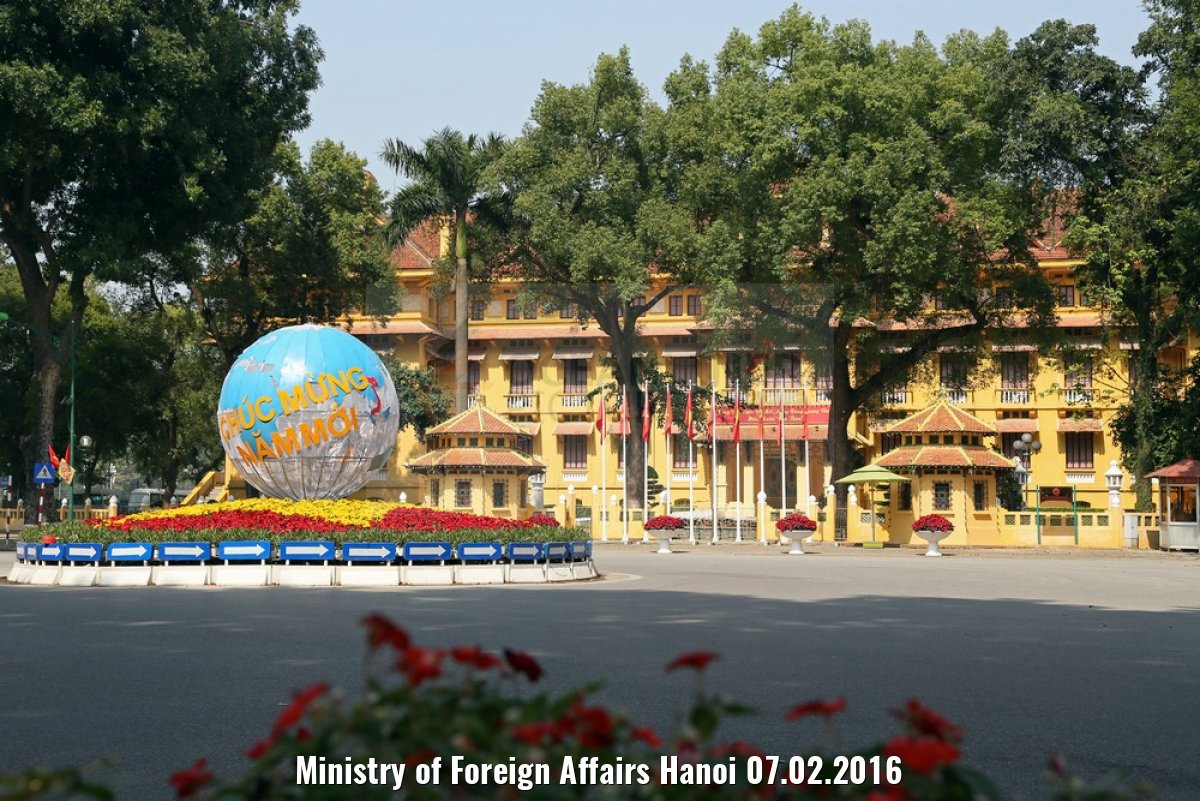 Ministry of Foreign Affairs Hanoi 07.02.2016