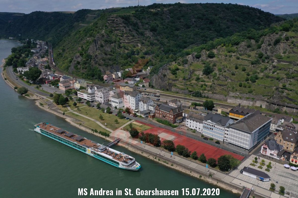 MS Andrea in St. Goarshausen 15.07.2020