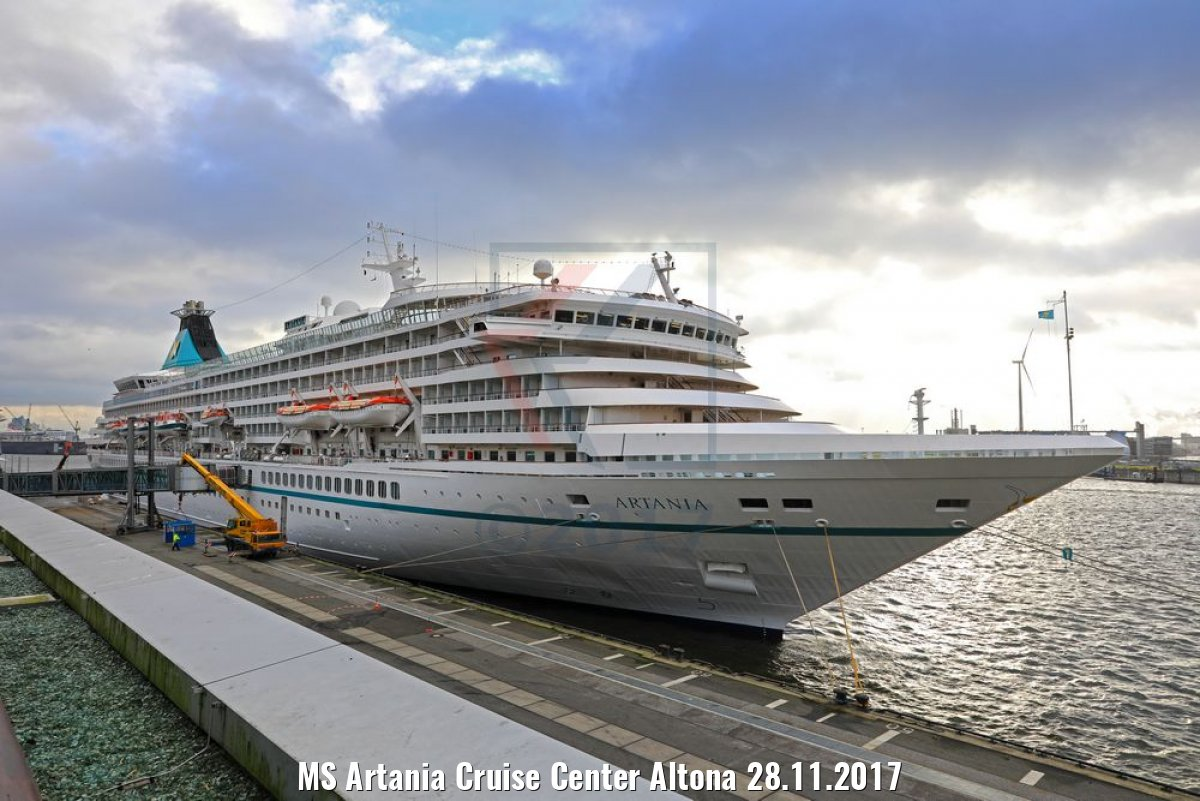 MS Artania Cruise Center Altona 28.11.2017