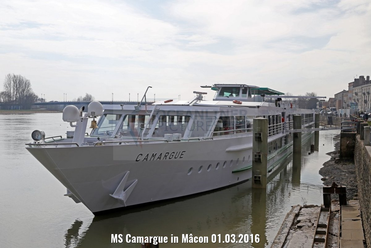 MS Camargue in Mâcon 01.03.2016