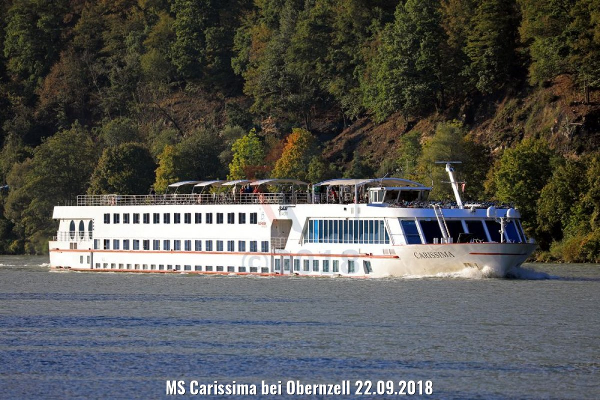 MS Carissima bei Obernzell 22.09.2018