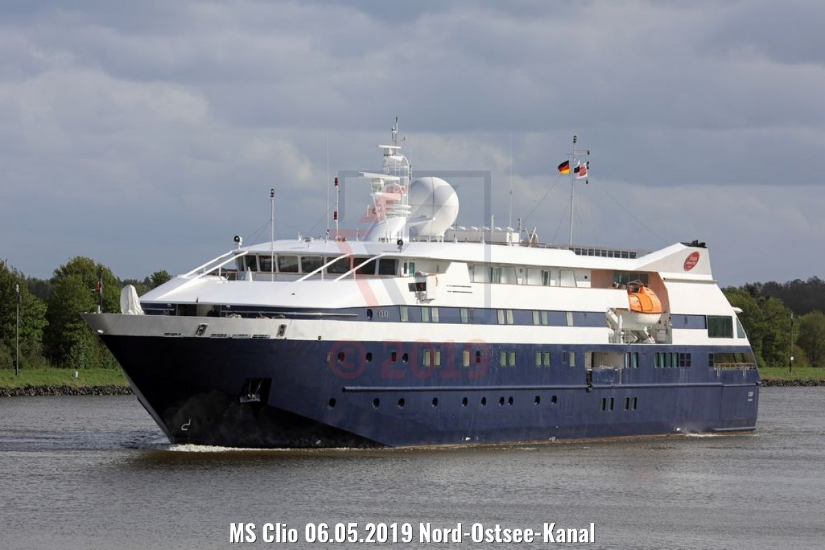MS Clio 06.05.2019 Nord-Ostsee-Kanal