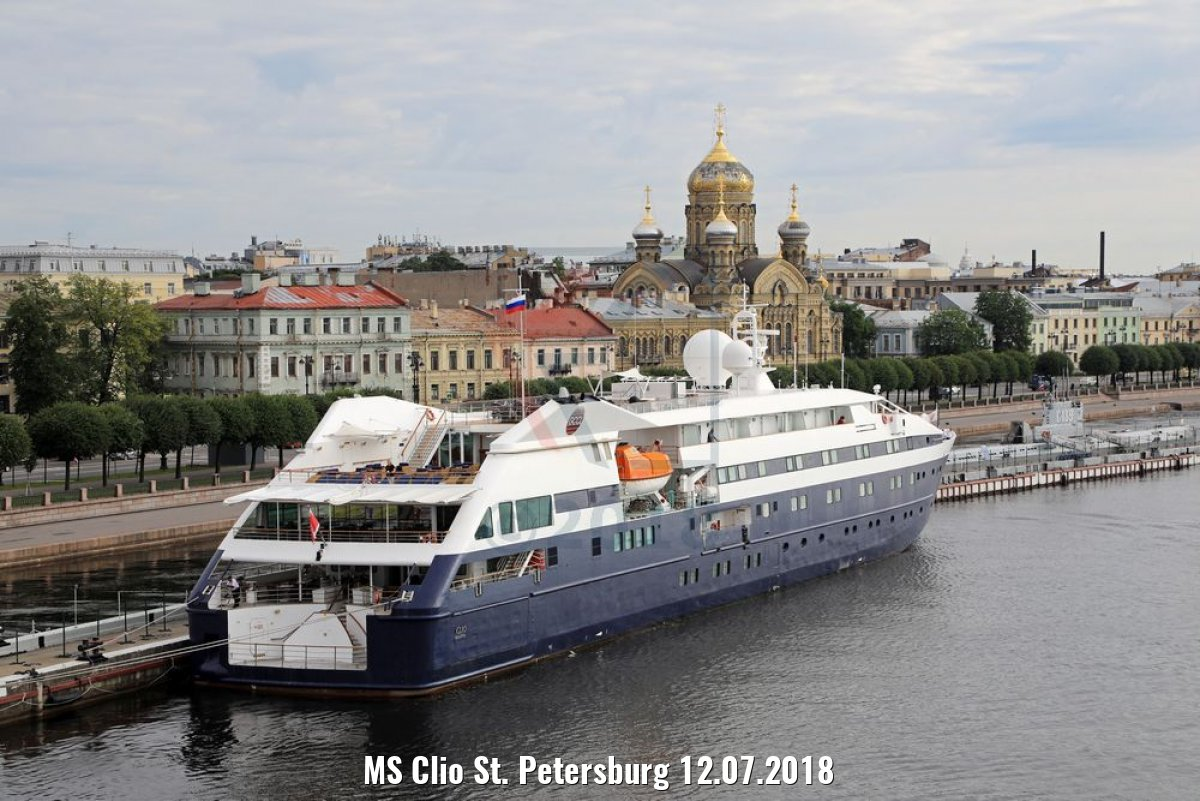 MS Clio St. Petersburg 12.07.2018