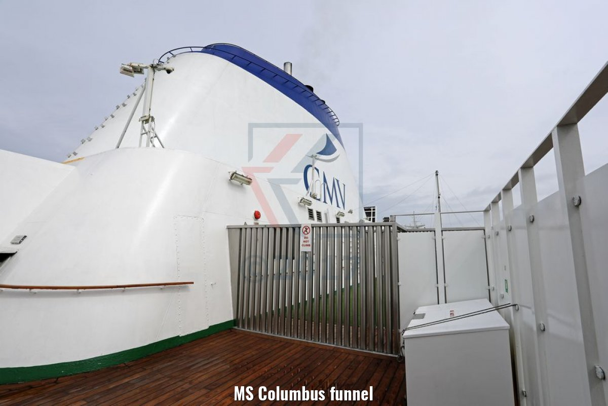 MS Columbus funnel