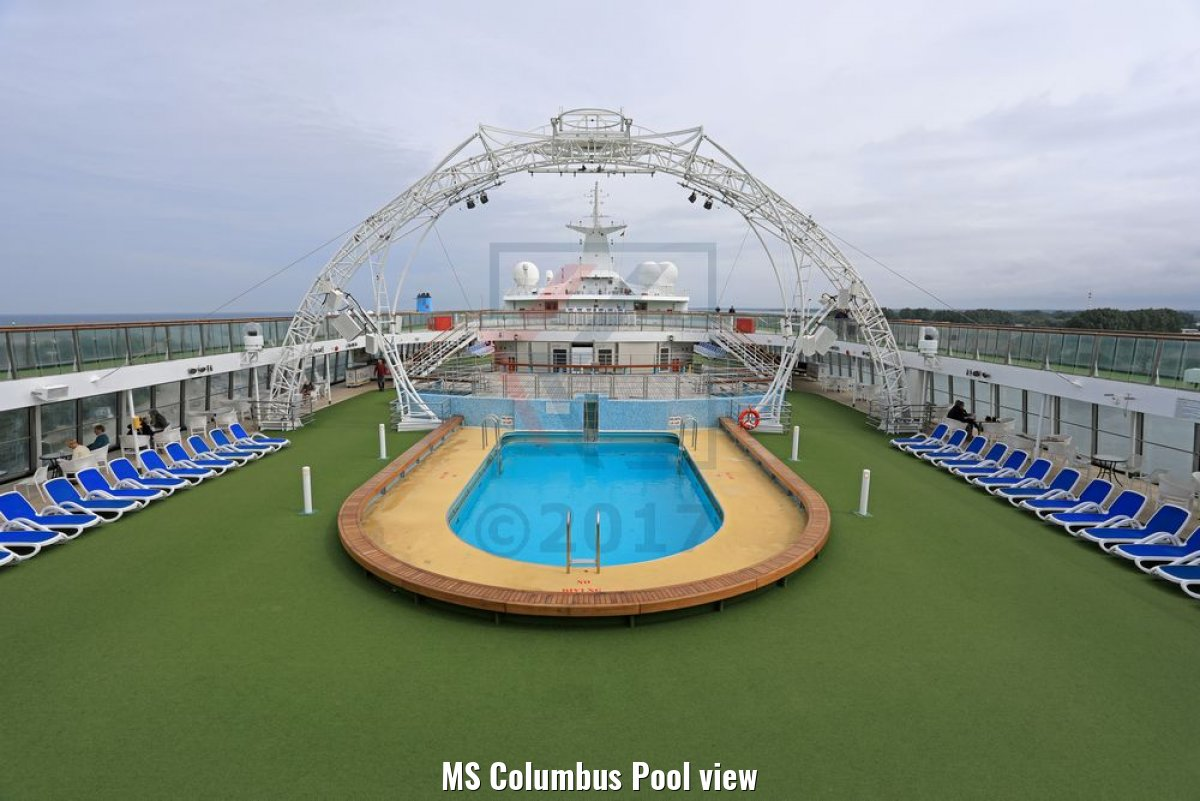 MS Columbus Pool view