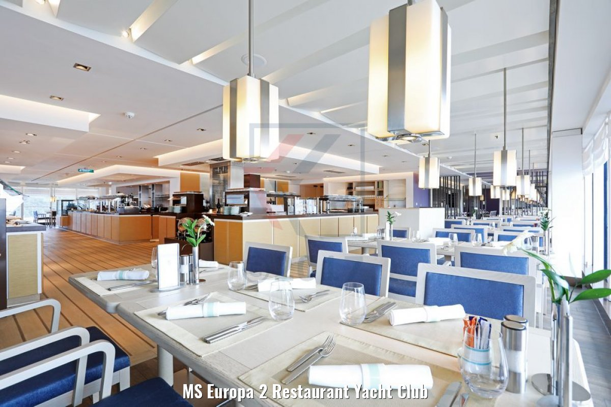 MS Europa 2 Restaurant Yacht Club