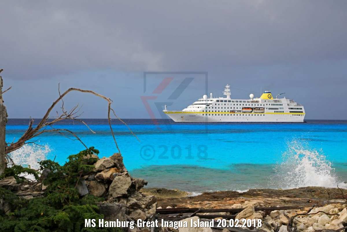 MS Hamburg Great Inagua Island 20.02.2018
