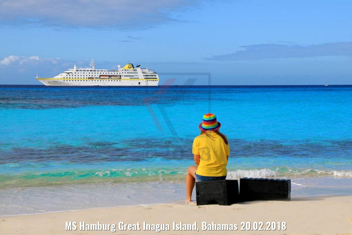 MS Hamburg Great Inagua Island, Bahamas 20.02.2018