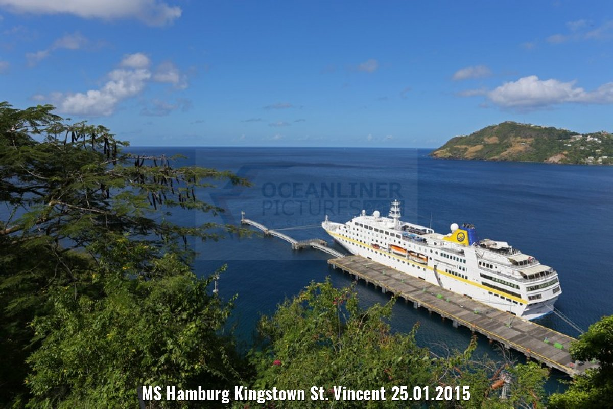 MS Hamburg Kingstown St. Vincent 25.01.2015