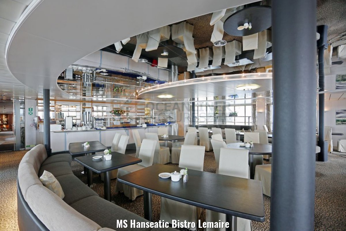 MS Hanseatic Bistro Lemaire
