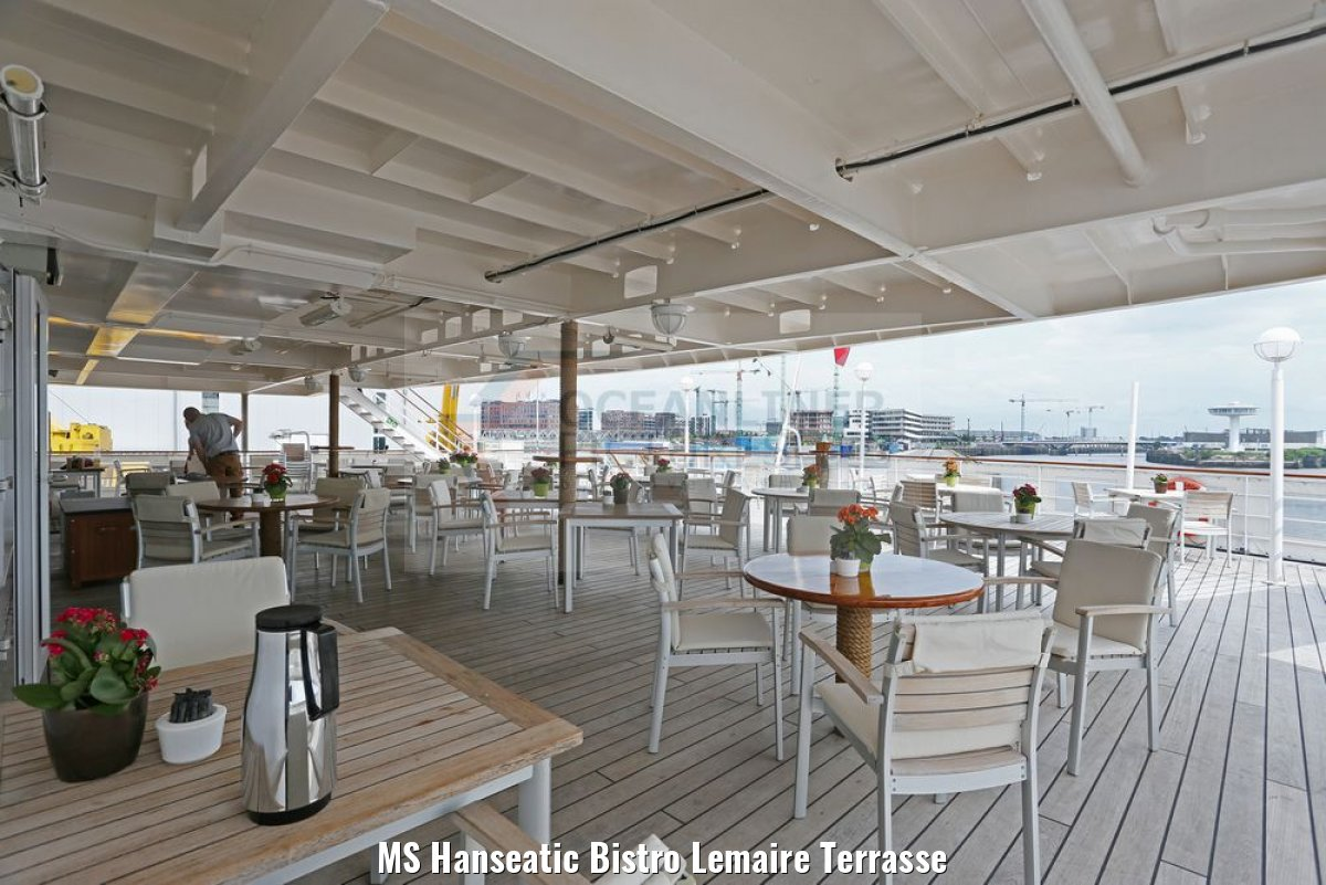 MS Hanseatic Bistro Lemaire Terrasse