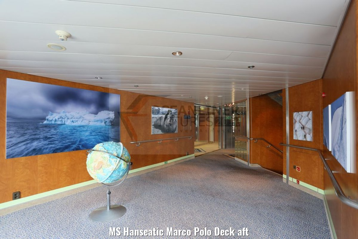 MS Hanseatic Marco Polo Deck aft