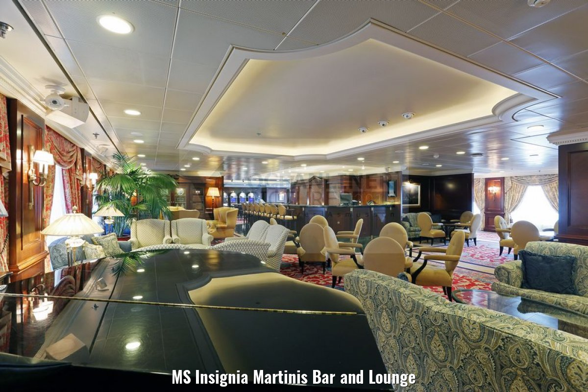 MS Insignia Martinis Bar and Lounge