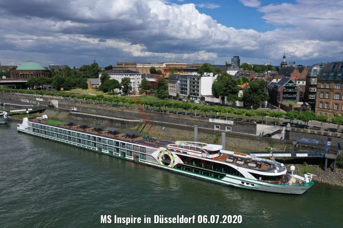 MS Inspire in Düsseldorf 06.07.2020