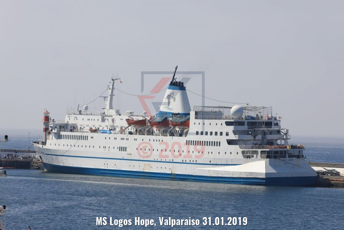 MS Logos Hope, Valparaiso 31.01.2019