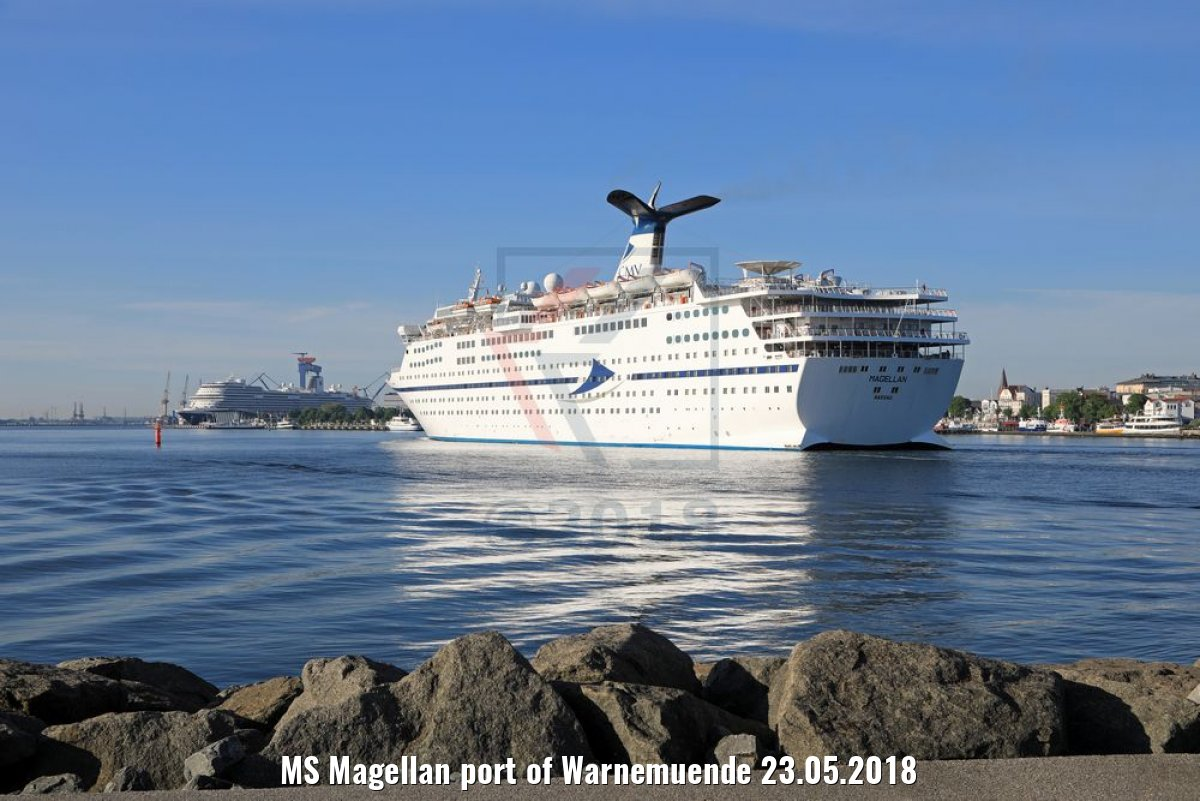 MS Magellan port of Warnemuende 23.05.2018