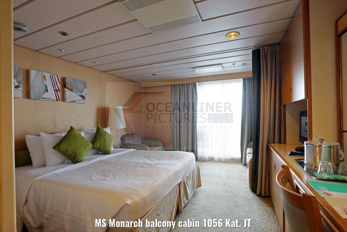 MS Monarch balcony cabin 1056 Kat. JT