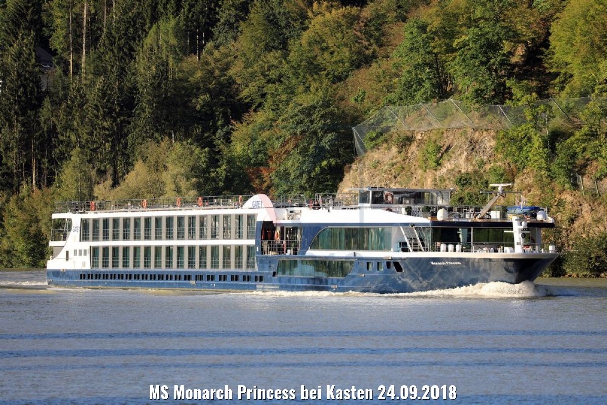 MS Monarch Princess bei Kasten 24.09.2018