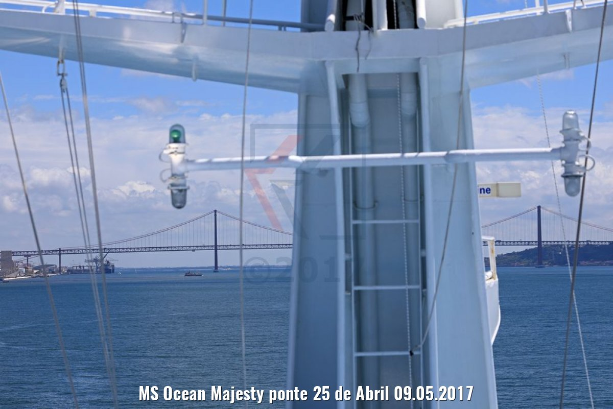 MS Ocean Majesty ponte 25 de Abril 09.05.2017