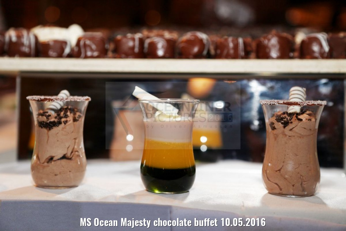 MS Ocean Majesty chocolate buffet 10.05.2016