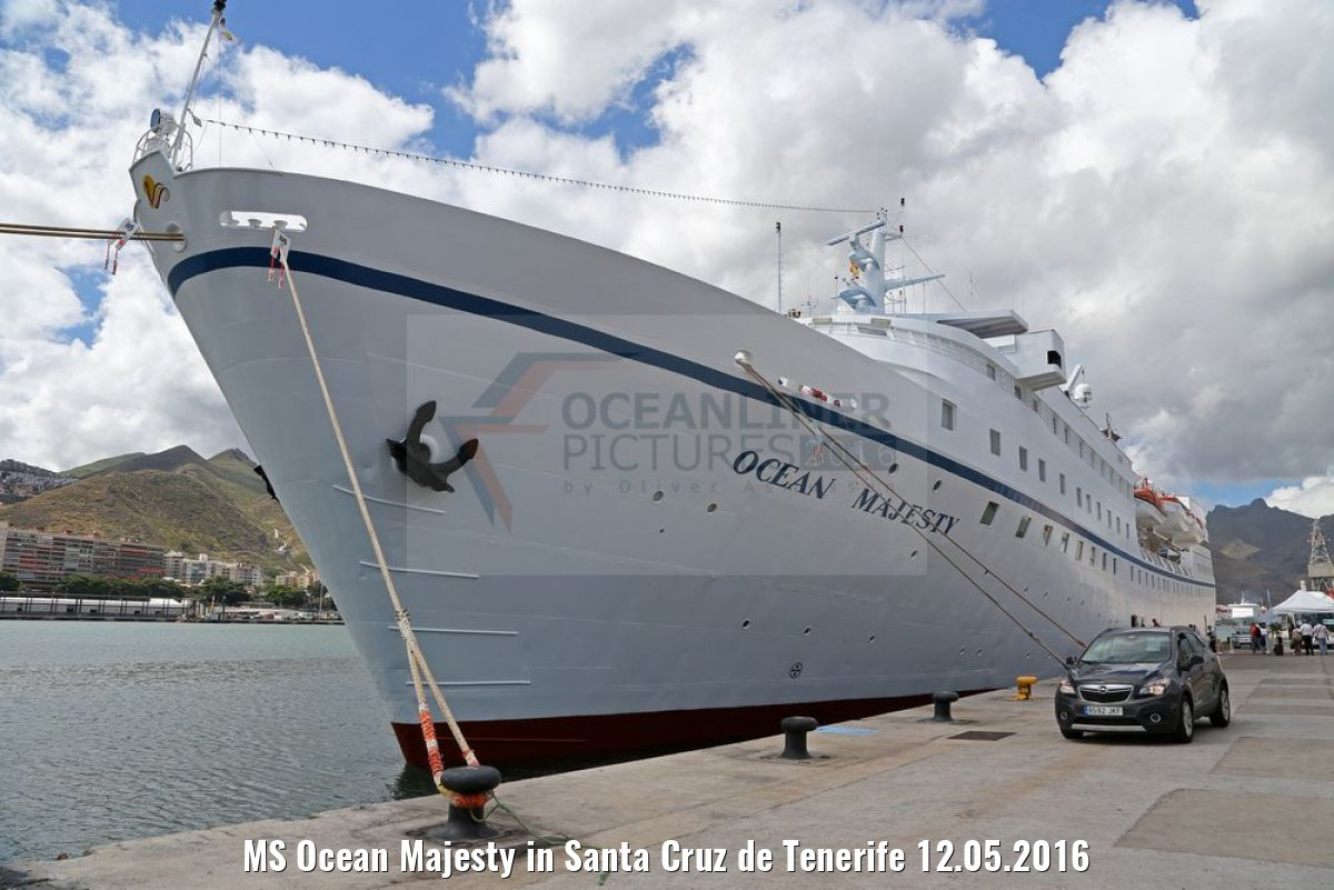MS Ocean Majesty in Santa Cruz de Tenerife 12.05.2016