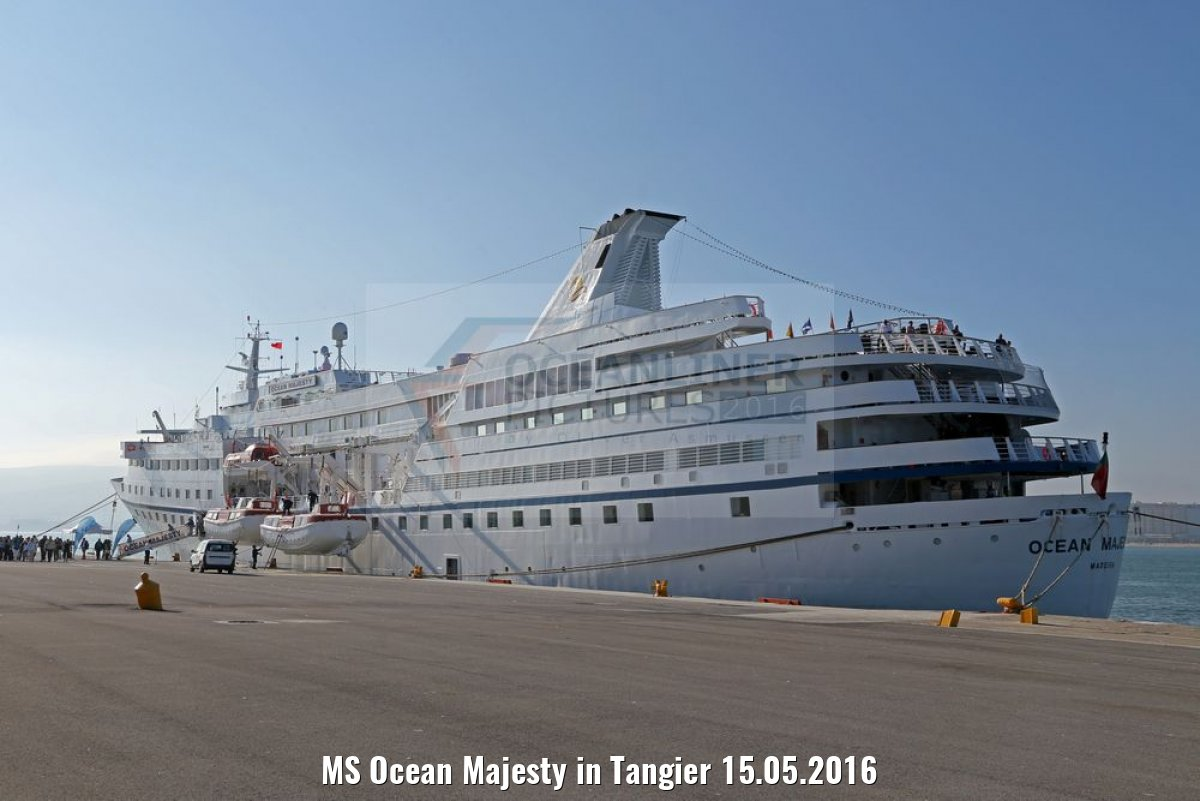 MS Ocean Majesty in Tangier 15.05.2016