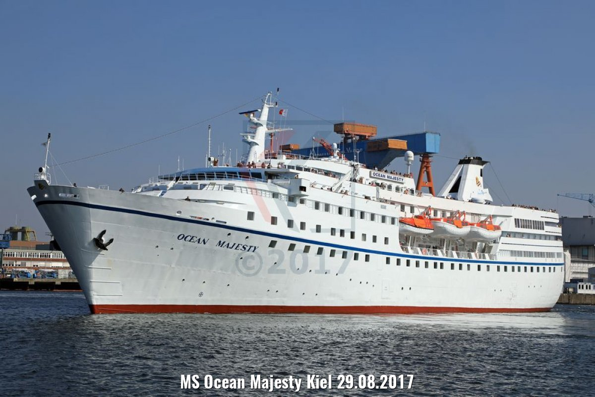 MS Ocean Majesty Kiel 29.08.2017