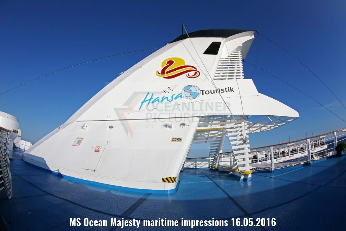 MS Ocean Majesty maritime impressions 16.05.2016