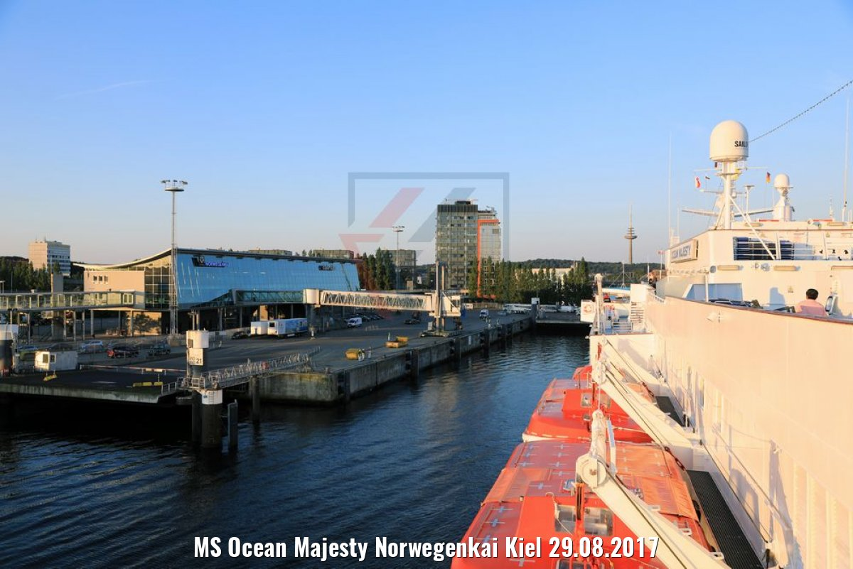 MS Ocean Majesty Norwegenkai Kiel 29.08.2017