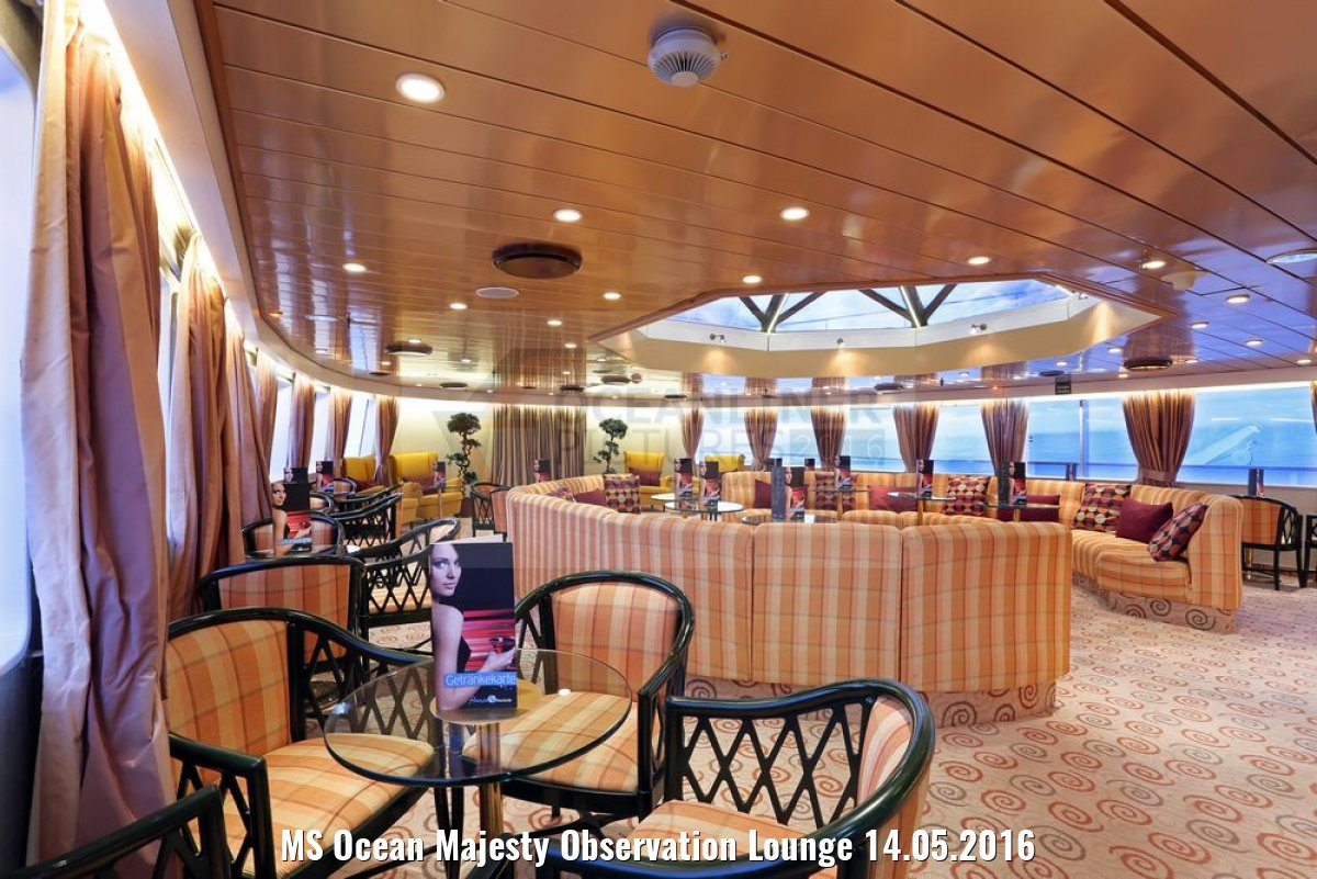 MS Ocean Majesty Observation Lounge 14.05.2016