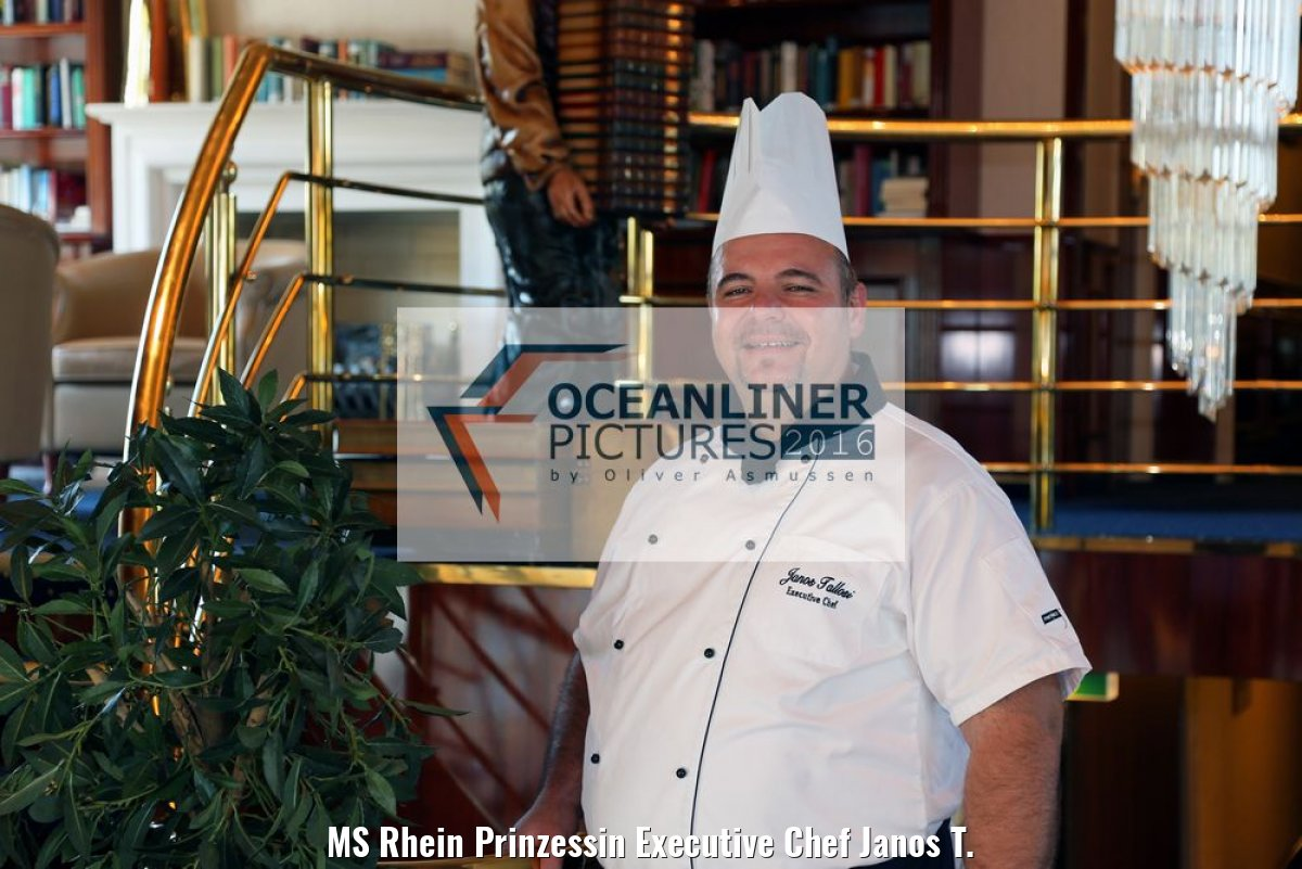 MS Rhein Prinzessin Executive Chef Janos T.