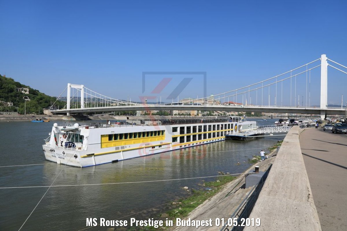 MS Rousse Prestige in Budapest 01.05.2019