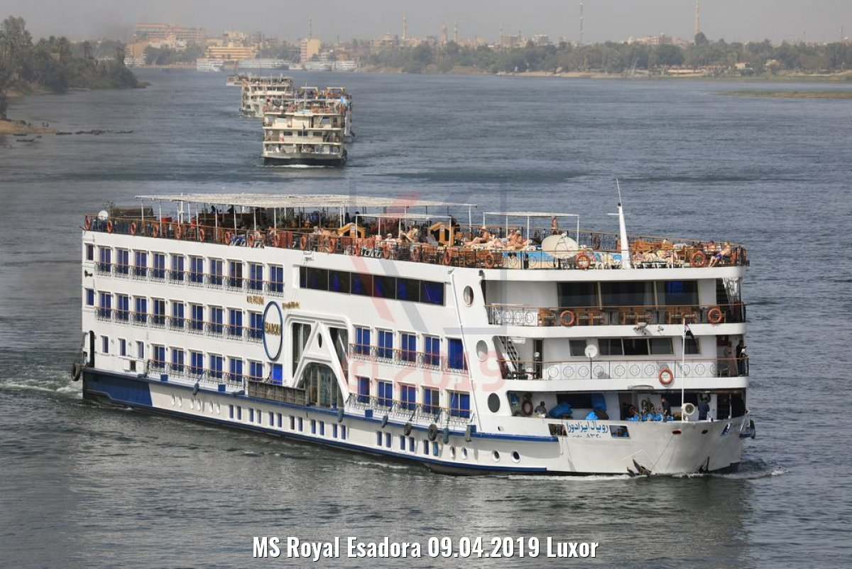 MS Royal Esadora 09.04.2019 Luxor