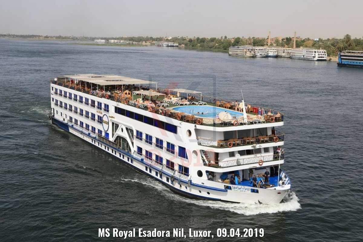 MS Royal Esadora Nil, Luxor, 09.04.2019