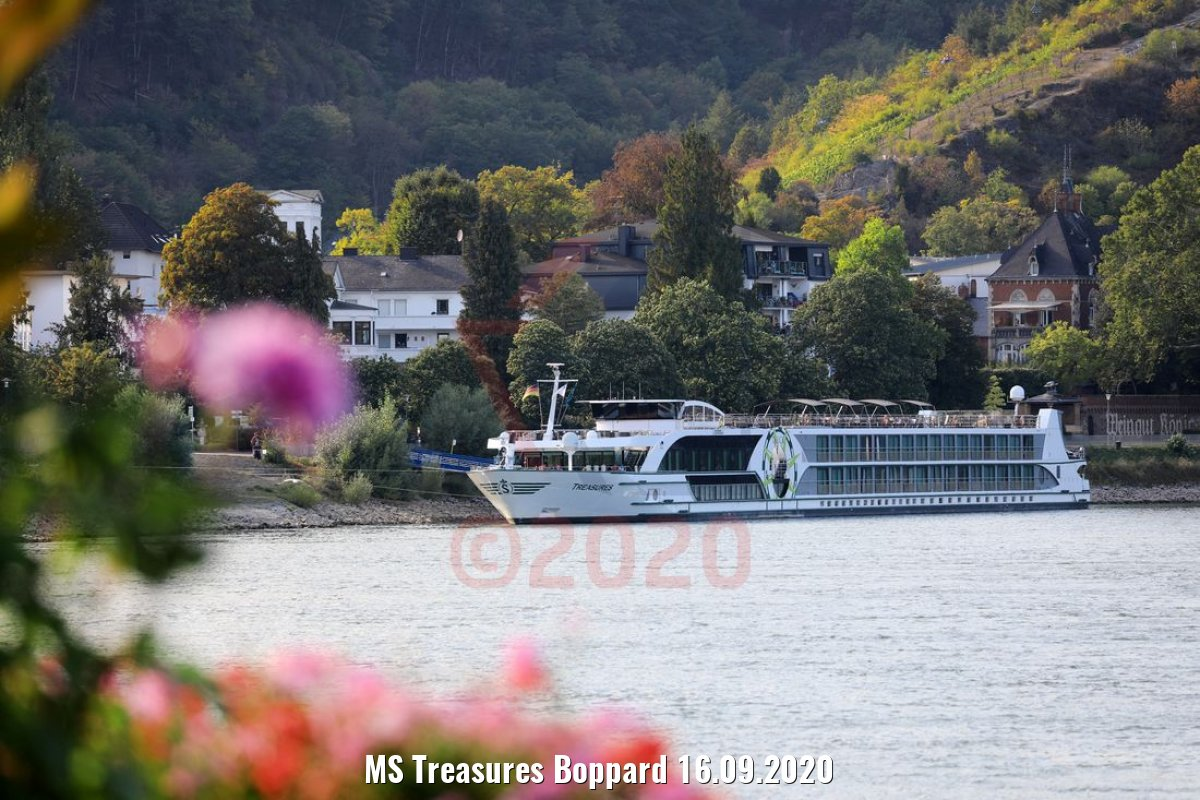 MS Treasures Boppard 16.09.2020