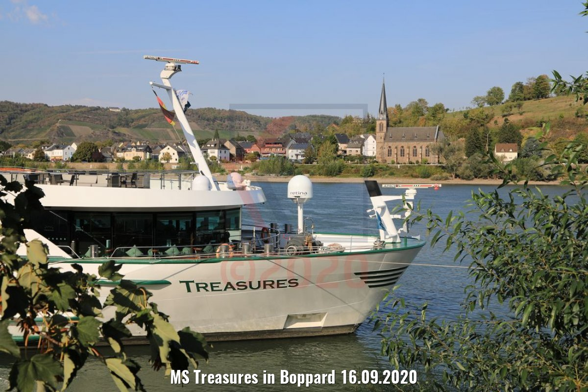 MS Treasures in Boppard 16.09.2020